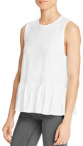 Aqua x Maddie & Tae Knit Flounce Tank - 100% Bloomingdale's Exclusive