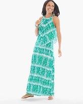 Chico's Breezy Tie-Dye Popover Maxi Dress