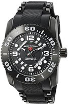 Swiss Legend Men's 'Commander Pro' Swiss Quartz Stainless Steel Casual Watch (Model: 10069-BB-01-PHT)