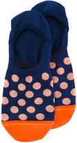 Paul Smith polka dot trainer socks - men - Cotton/Polyamide/Spandex/Elastane - One Size