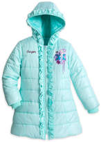 Disney Elsa Puffer Jacket For Girls - Personalizable