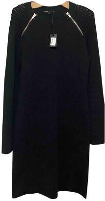 Maje Navy Wool Dresses