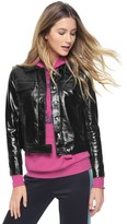 Juicy Couture Vinyl Crinkled Jacket