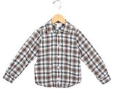 Jacadi Boys' Plaid Button-Up Shirt