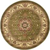 Safavieh Lyndhurst Collection LNH329B Sage and Ivory Round Area Rug, 8 feet in Diameter (8' Diameter)