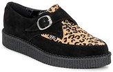 T.U.K. Pointed Creeper Black/Leopard