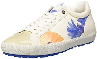 D'Acquasparta D'ACQUASPARTA Women D150 Low Trainers Off-White Size: