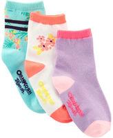 Osh Kosh 3-Pack Sun Shine Crew Socks