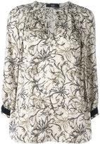 Steffen Schraut floral print blouse