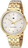 Tommy Hilfiger Women's 'SPORT' Quartz and Stainless-Steel Casual Watch, Color:Gold-Toned (Model: 1781761)