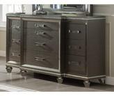 Everly Sanabria 10 Drawer Double Dresser Quinn
