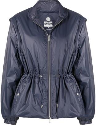 Etoile Isabel Marant Smocked Waist Windbreaker Jacket