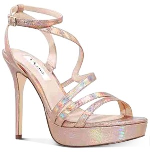 Nina Saraya Evening Platform Sandals Women's Shoes