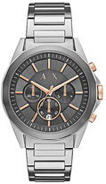 Armani Exchange Men's Chronograph Stainless Steel Watch