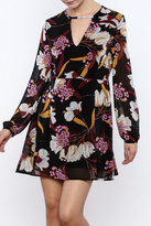 MinkPink Floral Print Dress