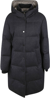 Brunello Cucinelli Buttoned Long Padded Jacket