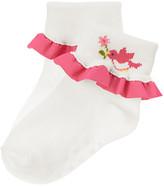Gymboree Birdie Ruffle Sock