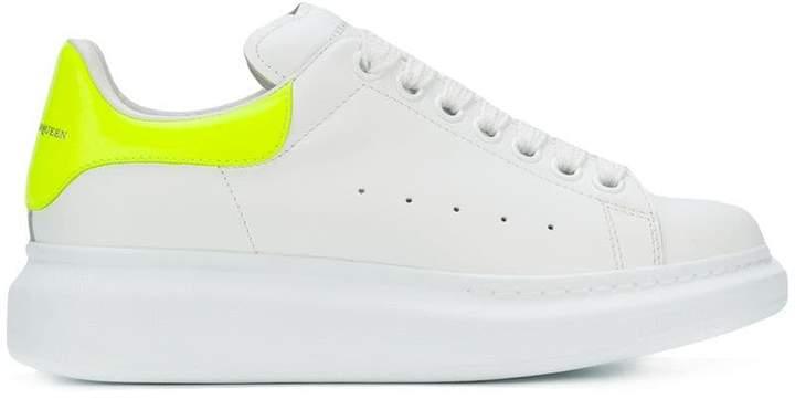 Alexander McQueen extended sole sneakers
