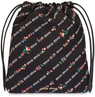 Miu Miu Printed Make-Up Pouch
