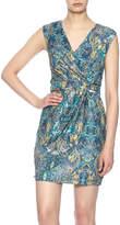 Lavand Print Dress