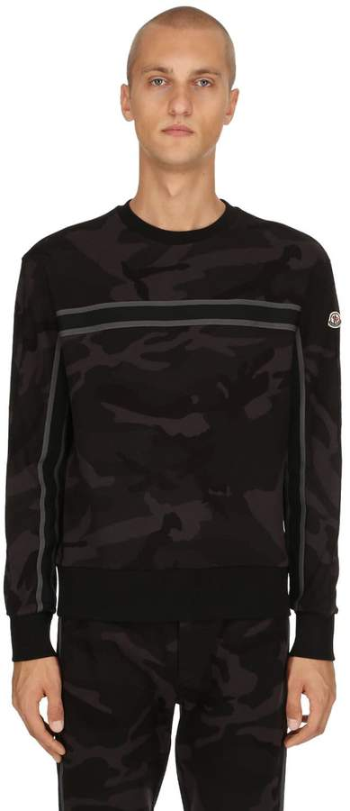 Moncler Camo Cotton Sweatshirt