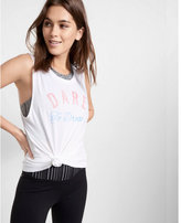 Express EXP core dare to dream muscle tank