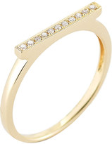 The Alkemistry Diamond Bar 14ct yellow-gold ring