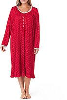 Eileen West Plus Dotted Waltz Nightgown