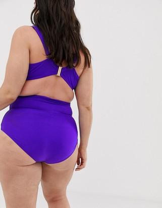 Lost Ink plus size bikini bottoms