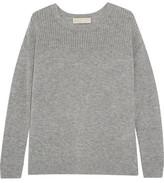 MICHAEL Michael Kors Merino Wool And Cashmere-Blend Sweater