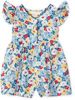 Ralph Lauren Girl Floral Cotton Romper