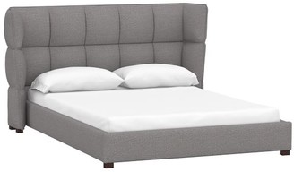 Pottery Barn Teen Upholstered Glove Platform Bed