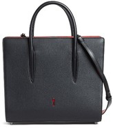 Christian Louboutin Medium Paloma Leather Tote - Black