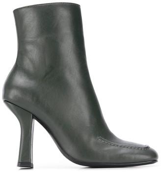 Dorateymur Retox block heel ankle boots