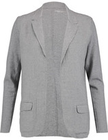 Majestic Frayed Cotton-Blend Jersey Blazer