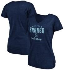 Majestic Seattle Kraken Women's Freeline V-Neck T-Shirt