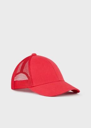 Ea7 Baseball Cap With Logo