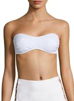 Norma Kamali Side XS Solid Bandeau Bikini Top