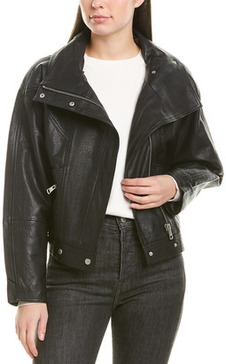 Bagatelle Dolman Leather Jacket