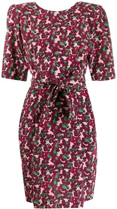 Stella McCartney floral-print tie-waist dress