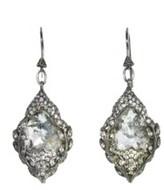Cathy Waterman Diamond Arabesque Earrings