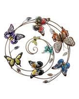 Fashion World Bright Butterfly Whirl Wallart