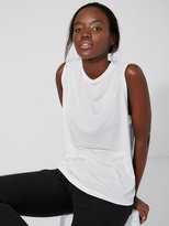 Frank + Oak Scoopneck Muscle Tank in Bright White