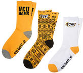 PINK Virginia Commonwealth University 3-Pack Crew Socks