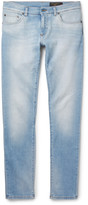 Dolce & Gabbana - Slim-fit Faded Washed Stretch-denim Jeans