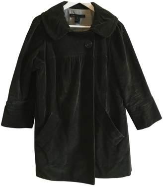 Marc by Marc Jacobs Green Velvet Coat for Women