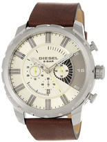 Diesel Men's Stronghold Leather Watch