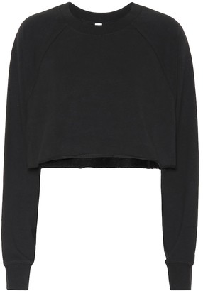 Alo Yoga Double Take cotton-blend sweater