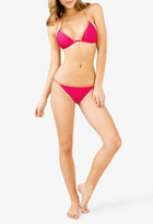 Forever 21 Braided Triangle Bikini Top