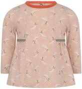 Catimini Baby Girls Pink Deer Print Top